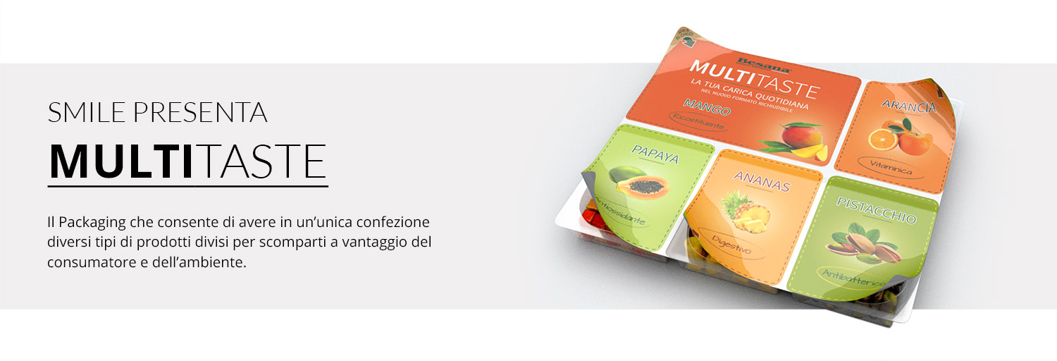 packaging alimentare per alimenti multipli